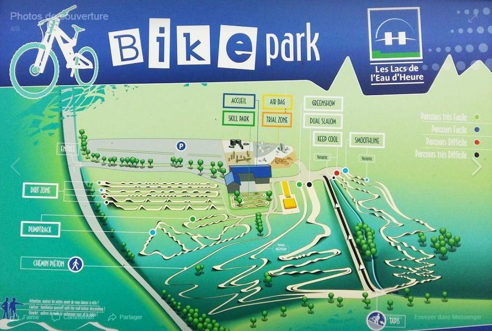 Bike Park des Lacs de l'Eau d'Heure