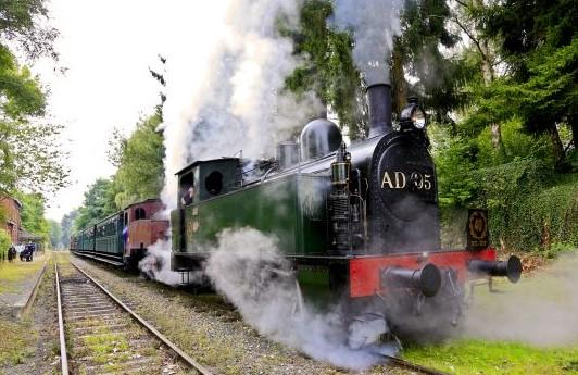 Le chemin de fer à vapeur des 3 vallées