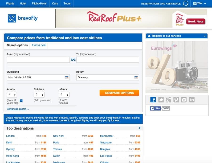 Test de Bravofly.fr, centrale de réservation de billets d'avion : j'ai testé pour vous