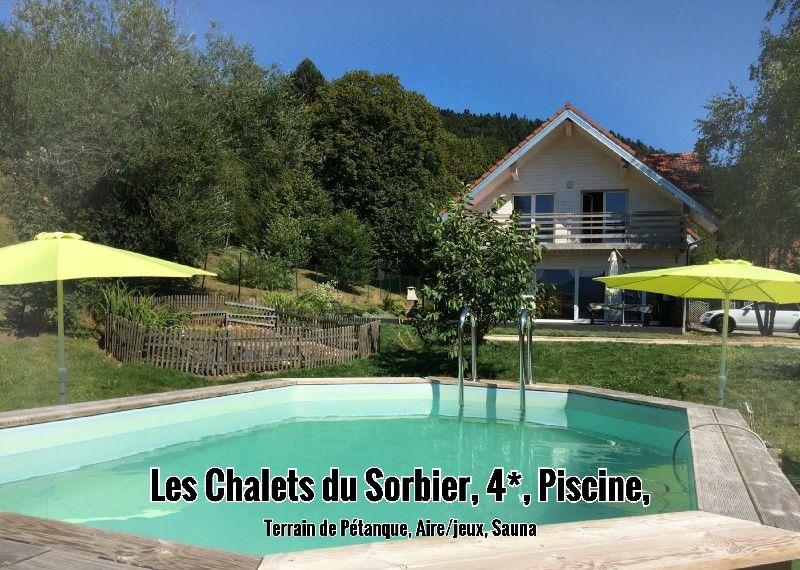 Béatrice et ses Chalets du Sorbier dans les Vosges