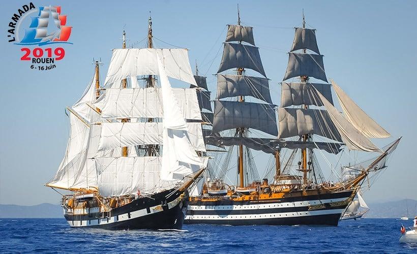 L'Armada 2019 – Bienvenue à Rouen