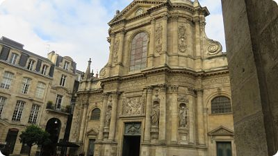 L'Eglise Notre-Dame bordeaux