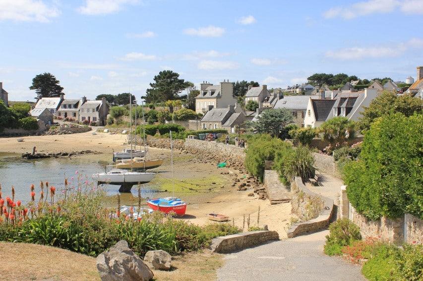 Petite île de Batz à Finistère