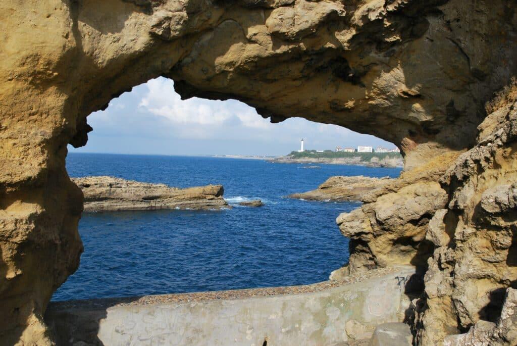 Roche sablonneuse de Biarritz