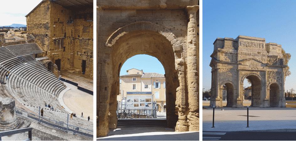 Monuments de la ville d'Orange