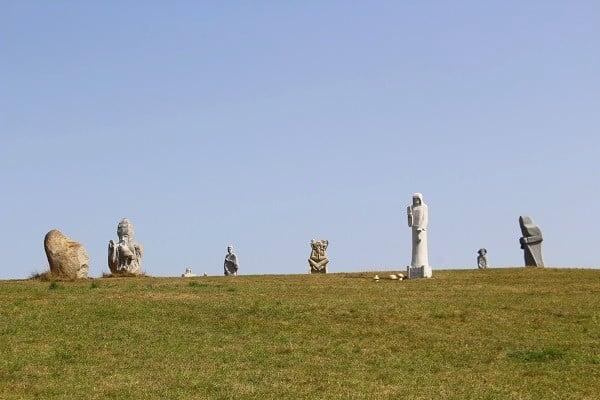 La vallée des Saints à Finistère