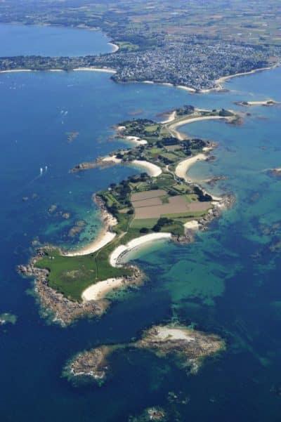 Visite de l'île Callot Finistère