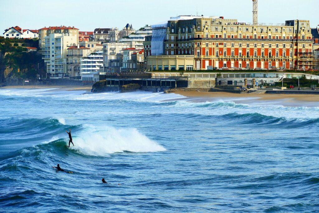 Voyage à Biarritz