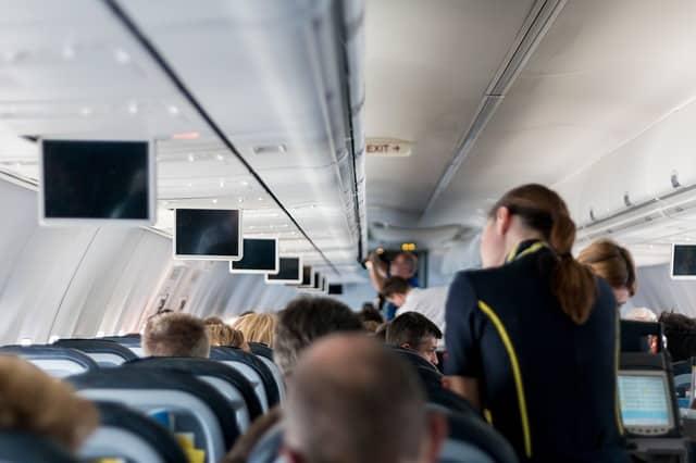 voyage hotesse avion