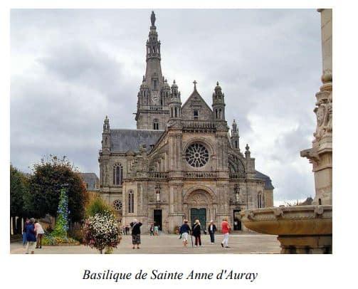 Basilique de Sainte-Anne d'Auray, Sud de la Bretagne