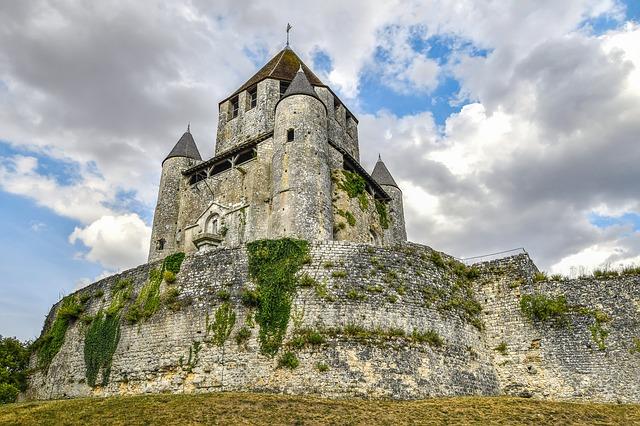 Visite du château de Provins