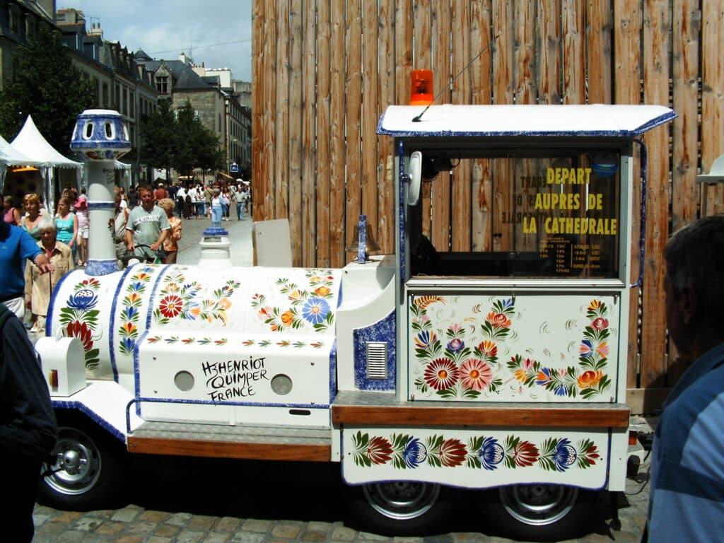Train touristique Bretagne Sud
