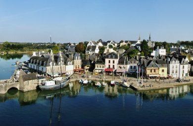 Vieille ville d'Auray avec son Port - Bretagne Sud