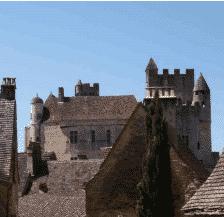 Architecture du château de Beygnac