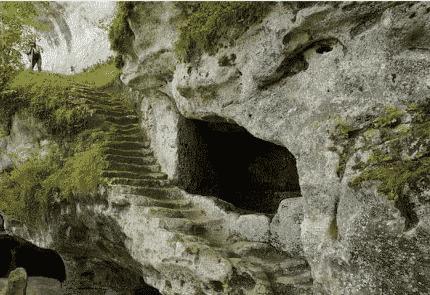 la Roque Saint Christophe à Perigord
