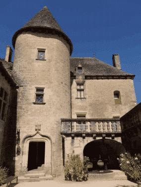 Le château de Fénelon à Perigord
