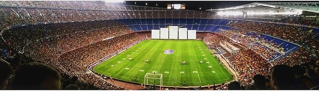 Stade de football barcelone