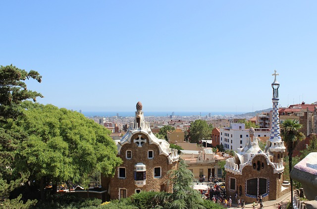 Excursion dans la parc Güell Barcelone