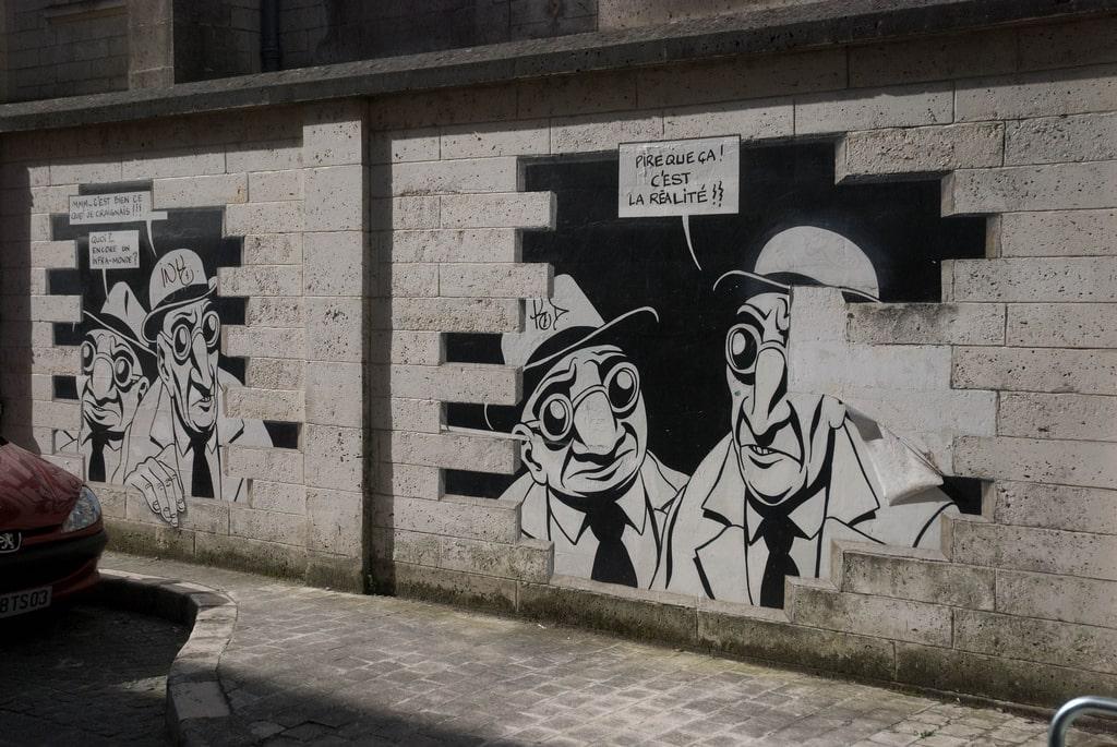 Peintures murales de rue