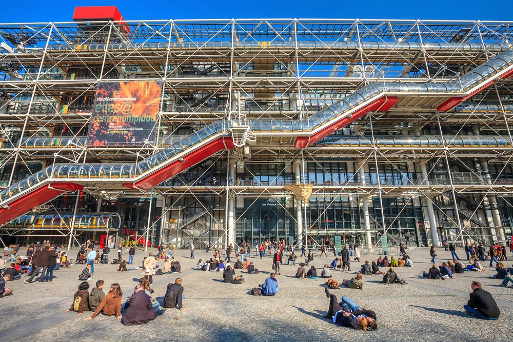 Paris : Centre George Pompidou