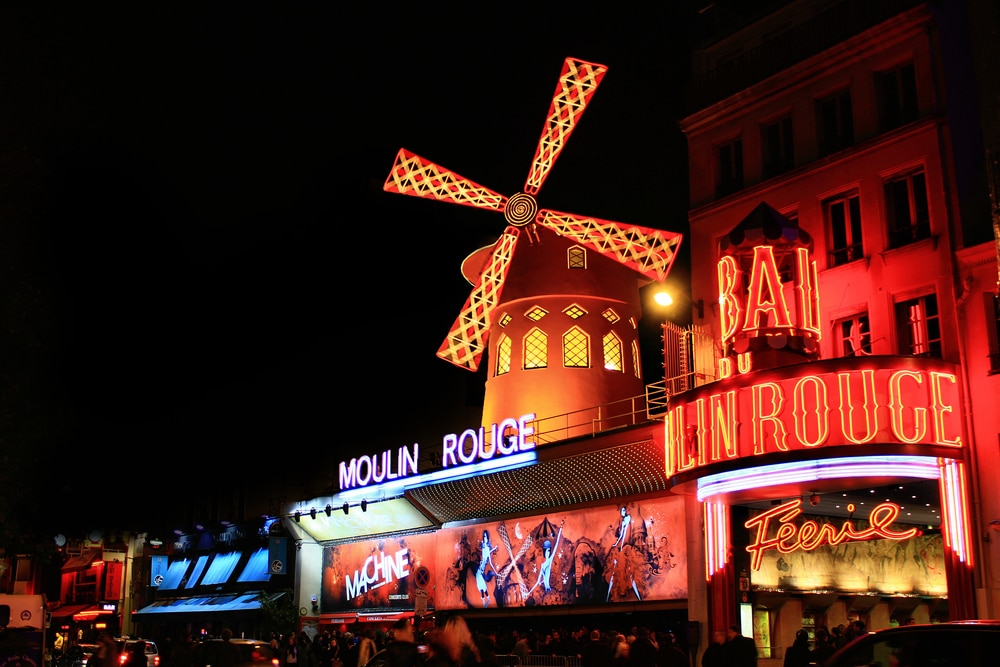 Paris : Moulin Rouge