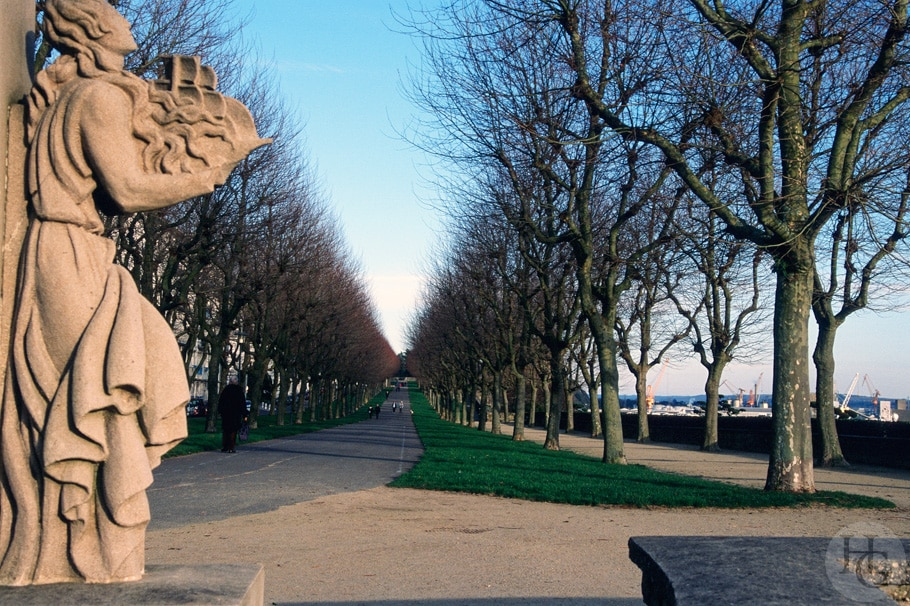 Le cours Dajot de Brest