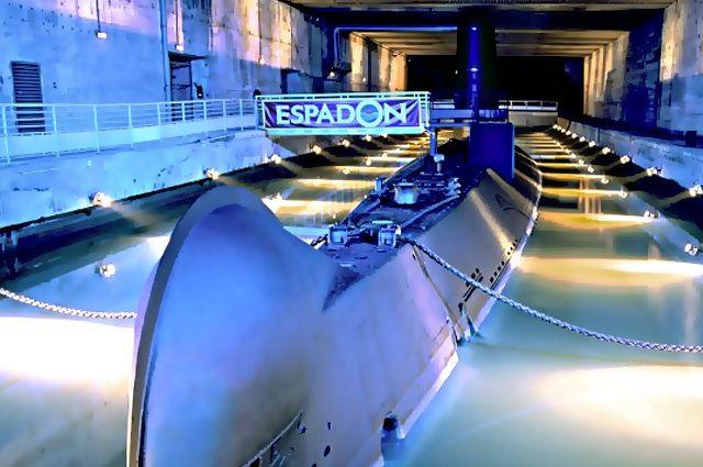 Le sous-marin français Espadon
