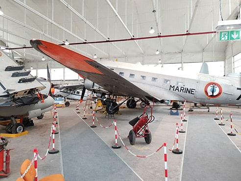 le musée de l'aéronautique navale rochefort