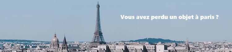 Vous avez perdu un objet à Paris ?