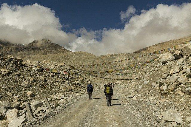 Ascension de l'Everest