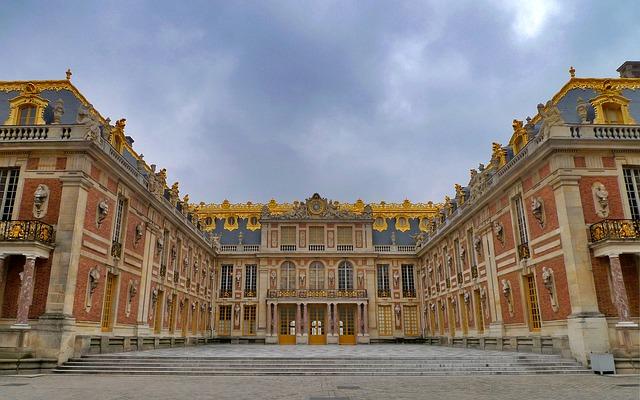 Le château de Versailles en Ile de France