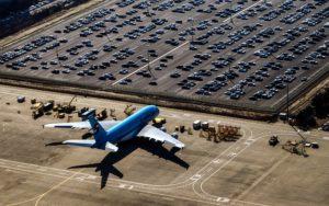 parkings d'aéroports