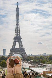 Nombre d'arrivées de touristes dans les hôtels à Paris de 2011 à 2019