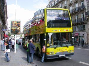 Hop on Hop off Tour en bus de Paris