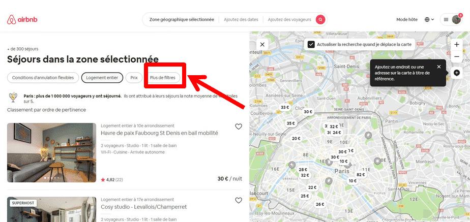 Carte Interactive Airbnb Comment l'Utiliser pour Trouver Votre Location ?