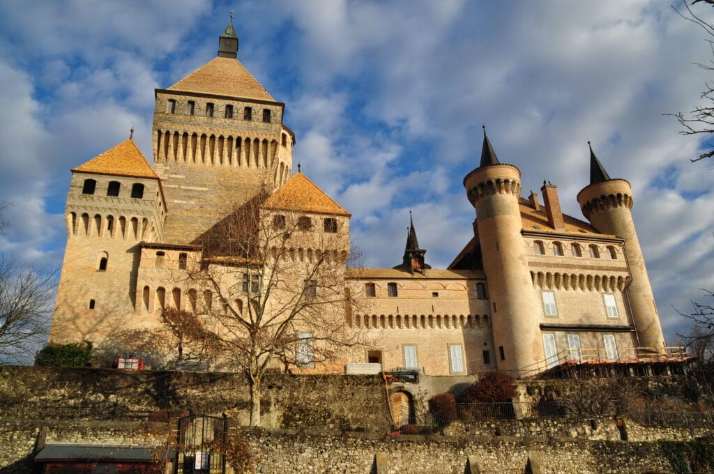 châteauxx de Suisse